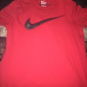 Nike swoosh shirt